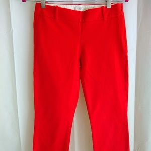 J. Crew Minnie Cropped Pant